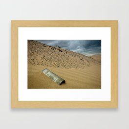 Lost Coors Can Framed Art Print