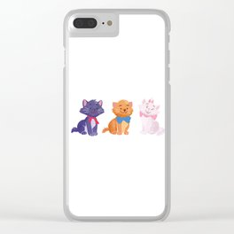 Once upon a time Aristocats Clear iPhone Case