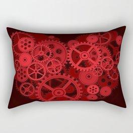 Steampunk - Heart Rectangular Pillow