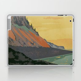 Five Islands Provincial Park Poster Laptop & iPad Skin