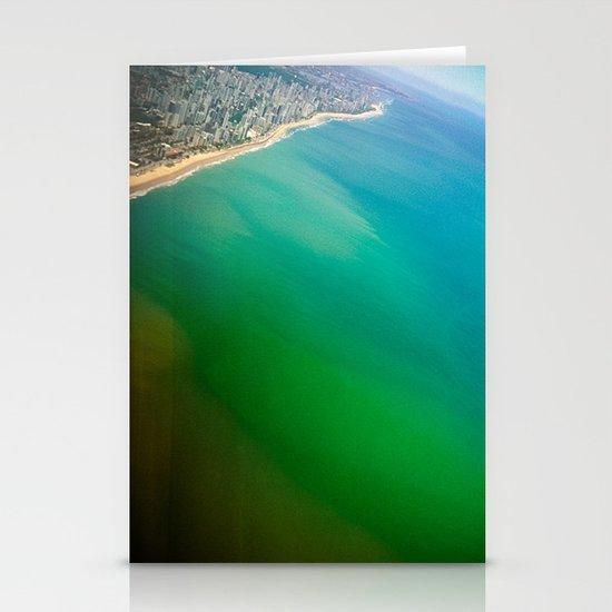 Salvador Beach III / Brazil Stationery Cards