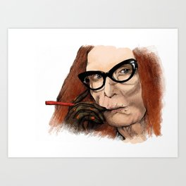 Myrtle Snow || Don't be a hater, dear (from American Horror Story: Coven) Art Print