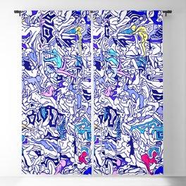 Kamasutra LOVE - Indigo Blue Blackout Curtain