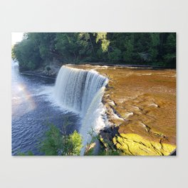Michigan Falls Canvas Print