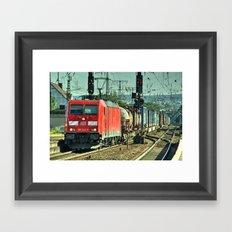 Koblenz Freight Framed Art Print