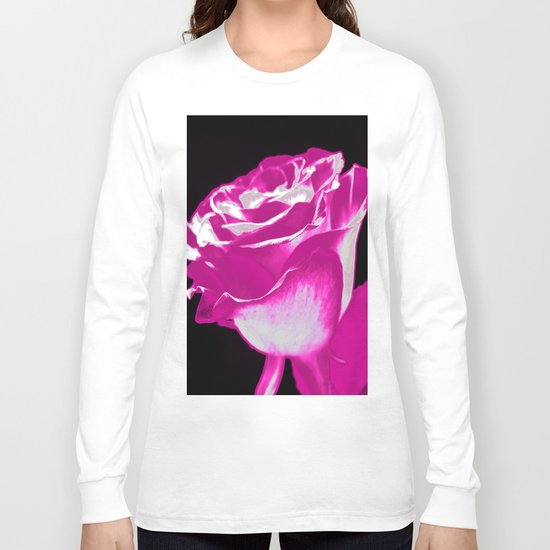 Colorful Rose F Long Sleeve T-shirt