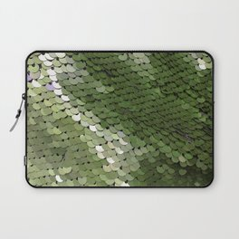 Green spangle Laptop Sleeve