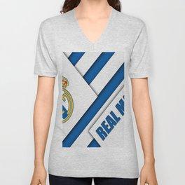 Real Madrid My Best Football Team Unisex V-Neck