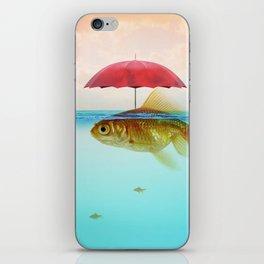 Under Cover Goldfish iPhone Skin