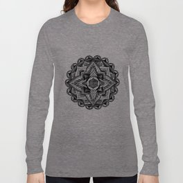 Mandala Circles Long Sleeve T-shirt