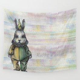Rabbit Pierrot Wall Tapestry