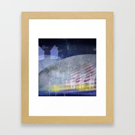 Dear home Framed Art Print