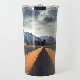 on the road Travel Mug