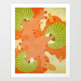 October 22 Art Print