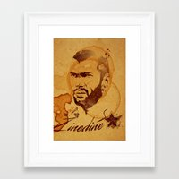 zidane Framed Art Prints featuring Zidane by Colo Design