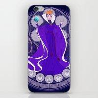 evil queen iPhone & iPod Skins featuring Evil Queen  by NicoleGrahamART