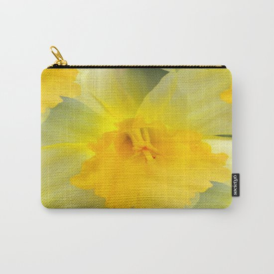 Endless Yellow Daffodil Carry-All Pouch