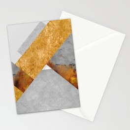 Modern Mountain No6-P3 Stationery Cards