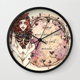 I Bring Forth Miracles Wall Clock