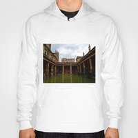 england Hoodies featuring Bath, England by Samantha Brockbank