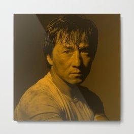 Jackie Chan - Celebrity Metal Print