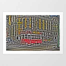 #100 '10 Art Print