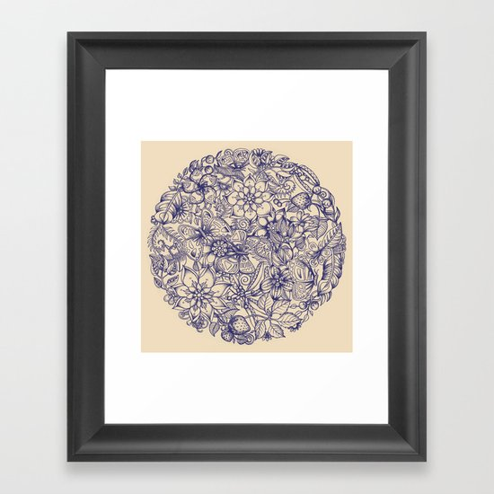 Circle of Friends Framed Art Print