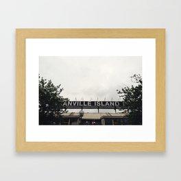 Granville Island Series | No. 2 Framed Art Print