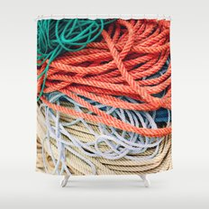 Sailor Rope II Shower Curtain
