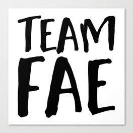 Team Fae Canvas Print