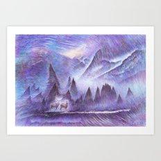 Winter Winds Art Print