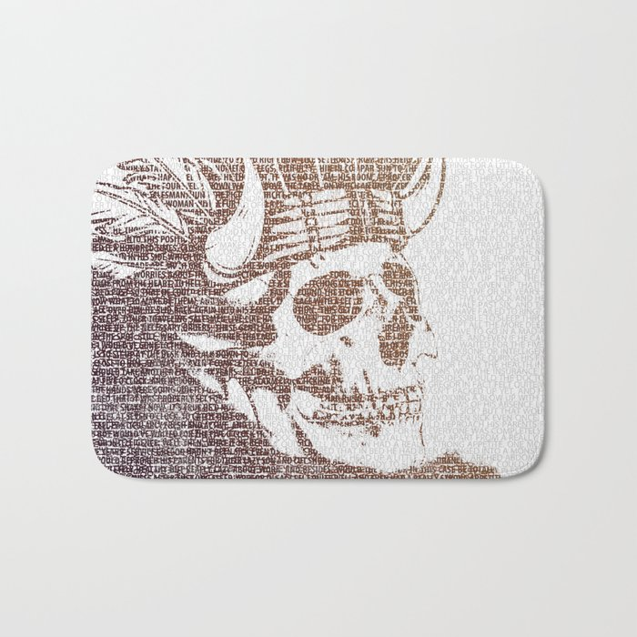 The Warrior Bath Mat