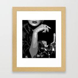Just Drinks Framed Art Print