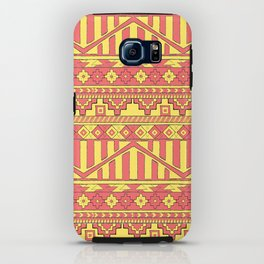 Aztec duo color pattern iPhone Case