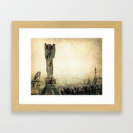 Notre Dame de Paris Framed Art Print