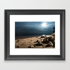Moonlight Framed Art Print