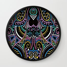 Colourful Night Wall Clock