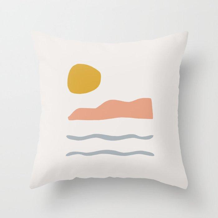 island Throw Pillow