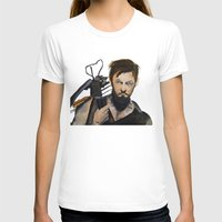 daryl dixon T-shirts featuring Daryl by Brittany Ketcham
