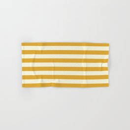 Yellow Stripes Bold Hand & Bath Towel
