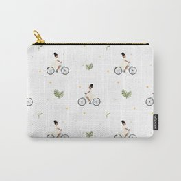 Bike Ride Pattern Carry-All Pouch