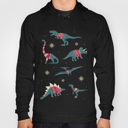 Dinos In Sweaters Hoody
