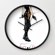 Just Power! Wall Clock