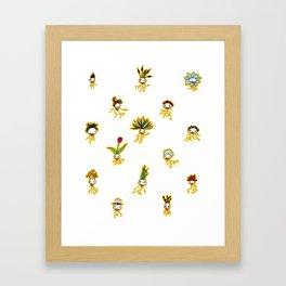 Dead Vegetation  Framed Art Print