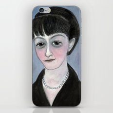 Dorothy Parker Literary Portrait iPhone & iPod Skin