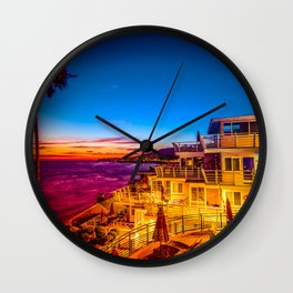 Twilight 5639 Laguna Riviera Beach Resort Wall Clock