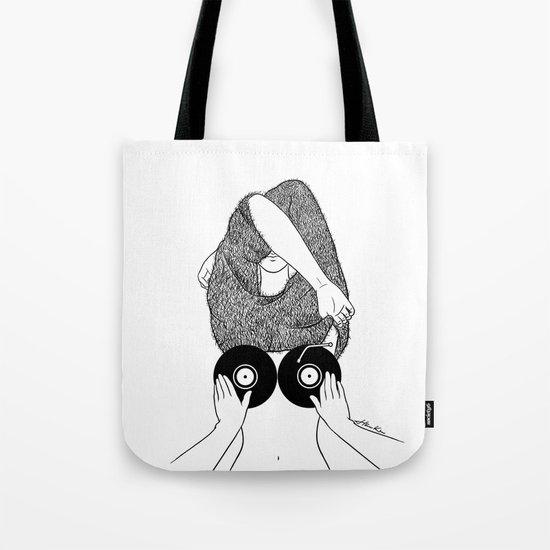 Sound Making Tote Bag