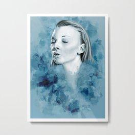 Dormer in blue Metal Print