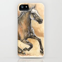 Running lusitano iPhone Case