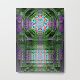 Emerald Sanctuary Metal Print